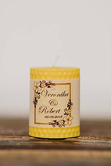 Darčeky pre svadobčanov - Menovka alebo darček pre svadobčanov - Točené -Vzor č.10 - 10537921_