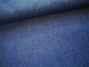 Textil - Potahovka - jednofarebná - džínsová modrá - 10538741_
