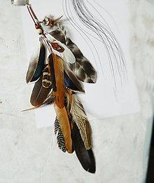 Ozdoby do vlasov - hair clip, clip do vlasov 35 cm - 10540061_