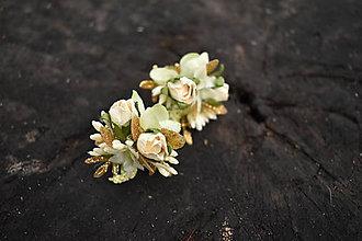 Náušnice - květinové baroko - 10538819_
