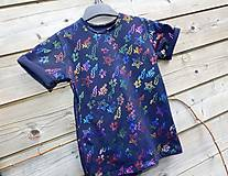 Detské oblečenie - Tričko - čierna s trblietkami - 10539998_