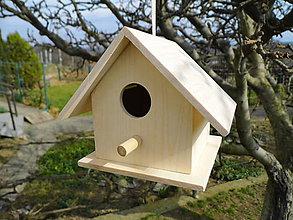 Dekorácie - Vtáčia búdka - dekorácia - 10539916_