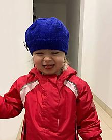Detské čiapky - Detská baretka - 10539864_