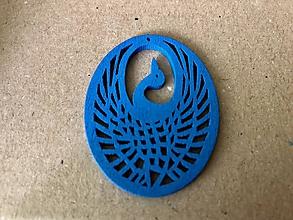 Komponenty - Vták z drevotriesky - 10537680_