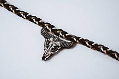 Náhrdelníky - Choker náhrdelník Western - VÝPREDAJ - 10540147_