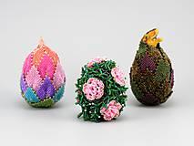 Dekorácie - Veľkonočné vajce - Růženka - 10539320_
