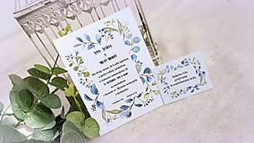 - Svadobné oznámenie