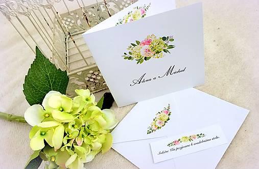 """Svadobné oznámenie """"Letná hortenzia"""" (Svadobné oznámenie: 13,2 x 13,2 cm)"""