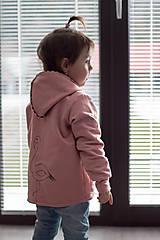 Detské oblečenie - Mikinka Plameniak - 10539759_