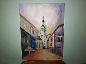 Obrazy - Michalská brána - 10539150_