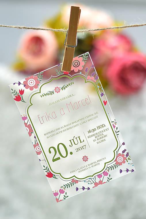 ae2b138f35 Svadobné oznámenia transparentné   jamaps - SAShE.sk - Handmade ...