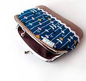 Peňaženky - Peňaženka XL Lístky a pruhy - 10536893_