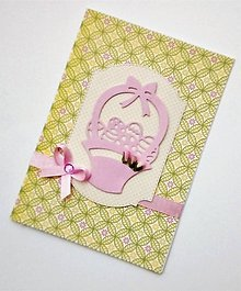 Papiernictvo - veľkonočná pohľadnica - 10537194_