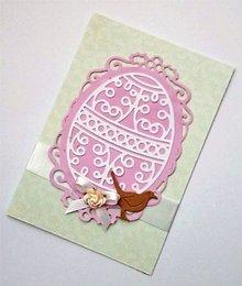 Papiernictvo - veľkonočná pohľadnica - 10537196_