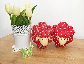 Dekorácie - OVEČKA - BARANČEK - jarné a Veľkonočné dekorácie - 10537022_