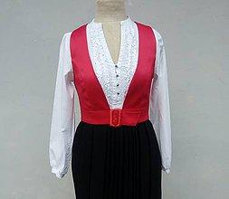 Iné oblečenie - Dámska vesta - Folklórna vášeň - 10538861_