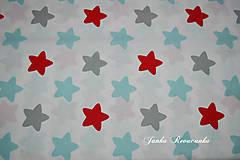 Textil - hviezdy - 10539142_
