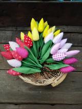 Dekorácie - Tulipány - 10537531_
