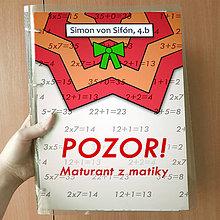 Papiernictvo - Pozor! Maturant z matematiky - zakladač (hviezdičky) - 10537574_