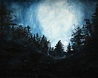 Obrazy - Mesačná noc - 10541973_