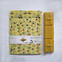 Pomôcky - Voskový obrúsok - zero waste (Mix mini - 100% bavlna) - 10541009_