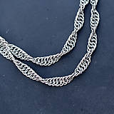 Náhrdelníky - Micro spirála (Chirurgická ocel) - náhrdelník - 10540481_