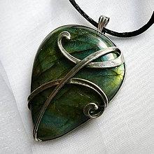 Náhrdelníky - Anjelský symbol - priateľstvo - 10540864_
