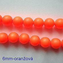 Korálky - SWAROVSKI® perly 6mm-1ks - 10542742_