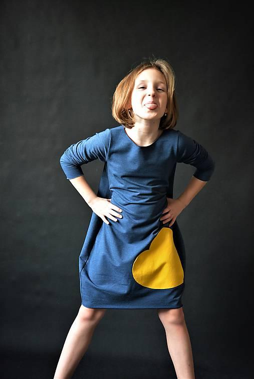 Teplákové balónové šaty/tunika Milica