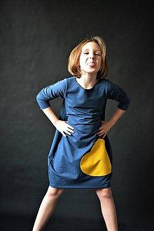 Detské oblečenie - Teplákové balónové šaty/tunika Milica - 10540646_