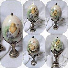 Dekorácie - Veľkonočné vajíčko - 10542265_