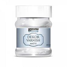Farby-laky - Dekor varnish - lak matný 230 ml*** - 10542839_
