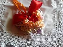 Dekorácie - srdce plne kvetov na objednávku - 10541190_