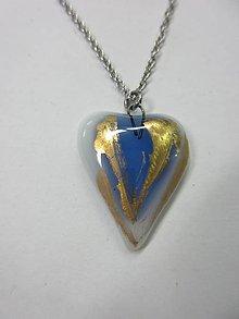 Náhrdelníky - Prívesok - srdce - 10540784_
