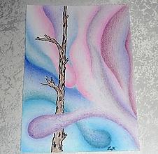 """Obrazy - Kresba - """"V ružovom sne"""" - 10540245_"""