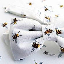 Doplnky - Pánsky motýlik - Včelár - 10540679_