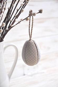 Dekorácie - patchworkové vajíčko - 10542866_