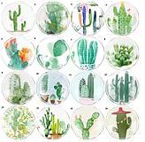KA108 Kabošon kaktus 12 mm