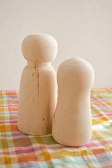 Polotovary - Drevené figúrky (tri veľkosti) (veľkosť L) - 10542942_