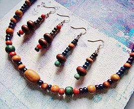 Sady šperkov - drevosklíčkové -set - 10541865_