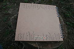 Papiernictvo - Svadobná kniha hostí - 10540817_