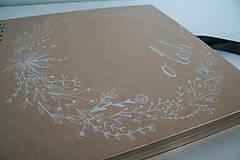 Darčeky pre svadobčanov - Svadobná kniha hostí - 10540833_