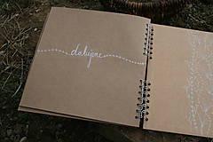 Darčeky pre svadobčanov - Svadobná kniha hostí - 10540851_
