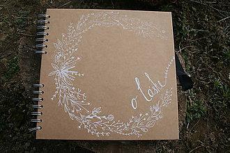 Darčeky pre svadobčanov - Svadobná kniha hostí - 10540830_