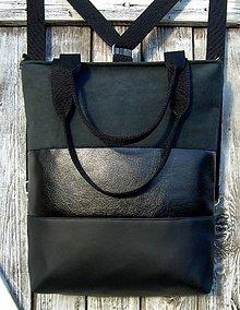 "Batohy - ""backpack 3in1- silver night"" - Batoh & taška cez rameno - 10541886_"