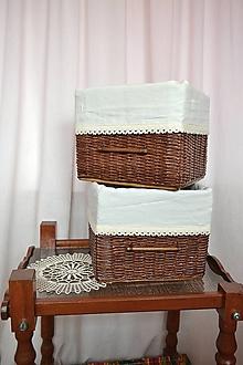 Košíky - Kakaové boxy MISHELL / ks - 10540982_