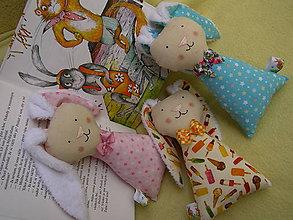 Hračky - zajačik - ušiačik - 10543143_