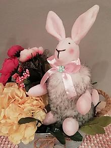 Dekorácie - Zajačik - 10545040_