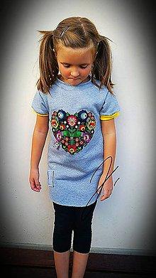 Detské oblečenie - Mikino - šaty