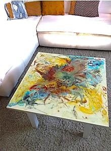Nábytok - lel art design relax- konferenčný stolík - 10545086_